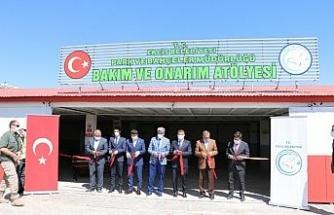 Erciş Belediyesinden üreten belediyecilik hizmeti