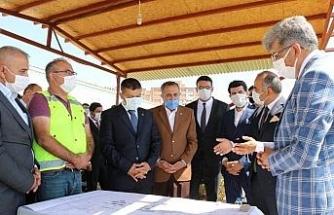Erciş T Tipi Cezaevinin yapımı devam ediyor