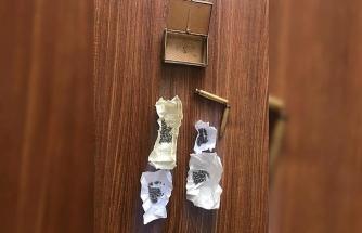 Evde kalem şeklindeki suikast silahı ele geçirildi