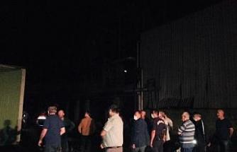 Fabrikanın kazan dairesindeki patlama korkuttu