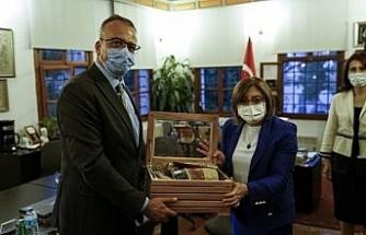 Fatma Şahin, Kapadokya Üniversitesini ziyaret etti