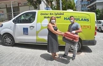 Haybulans, sokak hayvanları için 8 ayda 83 bin kilometre yol yaptı