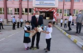 Karaman'da okullarda yüz yüze eğitim başladı