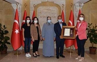 Nevşehir'de Devlet Övünç Madalyası ve Beratı Tevcih töreni yapıldı