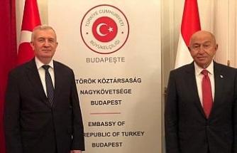 Nihat Özdemir'den Budapeşte Büyükelçisi Oktay'a ziyaret