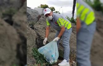Samsun'da kıyı temizliği seferberliği