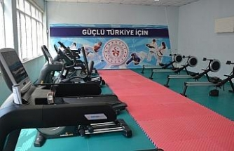 Sinop'ta halka ücretsiz spor merkezi