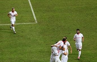 TFF 1. Lig: Samsunspor: 3 - Ümraniyespor: 0