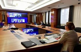 Ticaret Bakanı Pekcan, 38'inci Amerikan-Türk Konferansı'na video konferans yöntemiyle katıldı