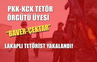 """Turuncu kategoride aranan PKK-KCK terör örgütü üyesi """"Baver-Çektar"""" kod adlı terörist Ahmet Herdem Amasya'da yakalandı."""