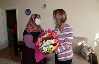 Vali Becel, şehit ailesini ziyaret etti