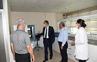 Vali Çuhadar, Başkan Şahan'dan tarımla ilgili bilgi aldı