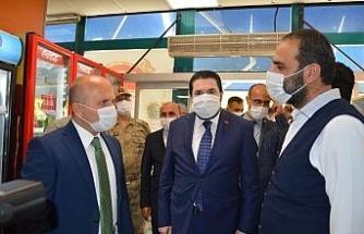 Vali Varol, pandemi müfettişleriyle Covid-19 denetimleri gerçekleştirdi