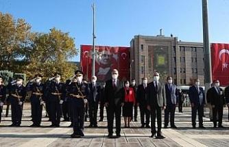 29 Ekim Cumhuriyet Bayramı Eskişehir'de de törenle kutlandı