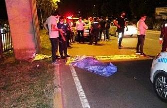 Antalya'da feci ölüm