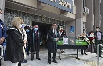 Avukat Ertuğrul, son yolculuğuna uğurlandı