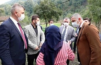 Başkan Büyükakın'dan kırsal mahallelere çıkarma