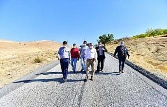 Başkan Çınar, ulaşım yatırımlarını inceledi