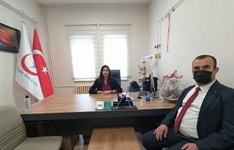 Başkan Soydan'dan Başhekim Çelik'e ziyaret
