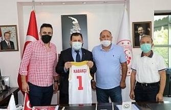 Bellona Kayseri Basketbol Kulübü'nden Kabakçı'ya ziyaret