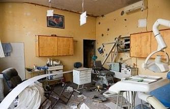 Berde'deki füze saldırısına klinikte yakalanan diş doktoru, korku dolu dakikaları anlattı