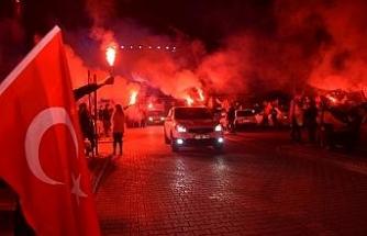Bozüyük 29 Ekim Cumhuriyet Bayramını gecede kutladı