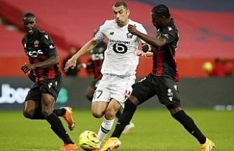 Burak Yılmaz, Lille'e 1 puanı kazandırdı