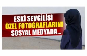 Bursa'da eski sevgilisi özel fotoğraflarını sosyal medyadan...