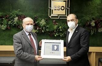 """Büyükelçi Robo, """"Eskişehir ve Arnavutluk arasındaki ihracatı artırmak için adım atmalıyız"""""""