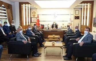 Çıkmaz'dan, Belediye Başkanı Kılıç'a ziyaret