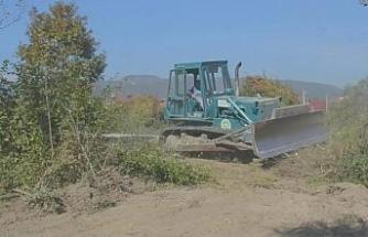 Cumayeri Belediyesi Millet Bahçesi çalışmalarına başladı