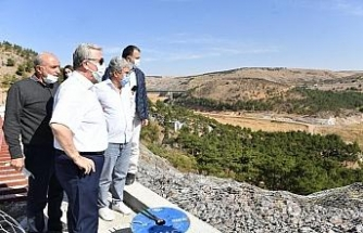 Cumhuriyet döneminin ilk barajı Çubuk 1 için özel açılış