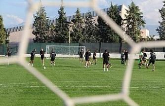 Denizlispor, Beşiktaş hazırlıklarını sürdürüyor