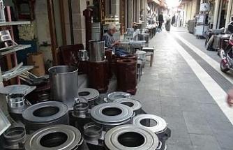 Diyarbakır'da doğalgazın yaygınlaşması ve kaçak elektrik kullanımı soba üreticilerini vurdu
