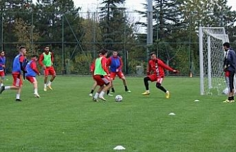 EsEs ara vermeden İstanbulspor maçı hazırlıklarına başladı