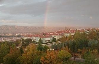 Eskişehir'de gökkuşağı güzelliği