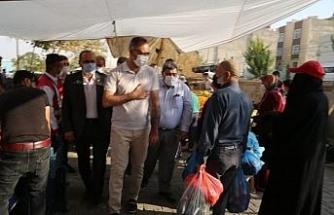 Eyyübiye Belediyesinden Direkli'ye kapalı semt pazarı