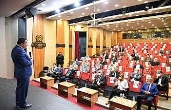 Gürkan film festivali ile ilgili STK temsilcileriyle bir araya geldi