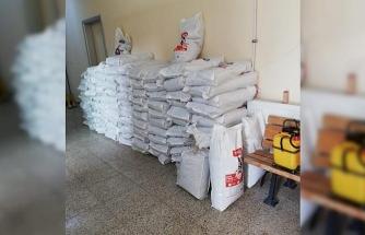 HAYTAP'tan 1,5 ton mama bağışı