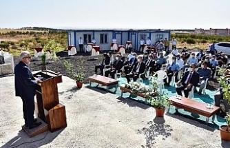 HRÜ'de hayvan yemi üretim tesisi hizmete sunuldu