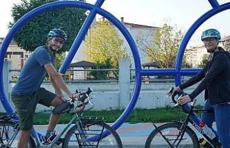 """İsviçreli bisikletçiler bisiklet akademisine hayran kaldı: """"Cenevre'de de görmek isteriz"""""""