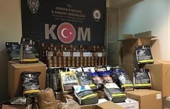 Kırıkkale'de 157 kilogram tütün ele geçirildi