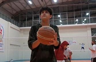 Kırıkkale'de basketbol kurslarına yoğun ilgi