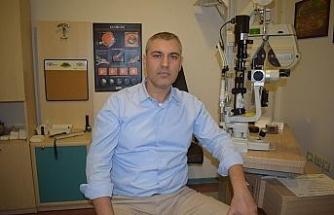 Lazer göz ameliyatları pandemi sürecinde arttı