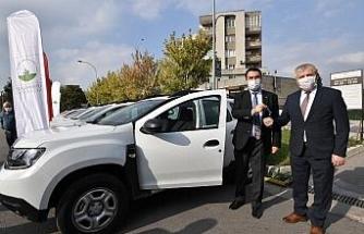 Osmangazi Belediyesi filyasyon ekiplerine 30 araç tahsis etti