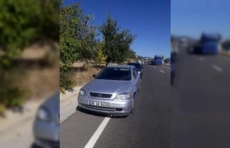 Otomobilin çarptığı yaya, olay yerinde hayatını kaybetti