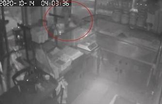 (Özel) İstanbul'da sadaka kutusu ve çanta hırsızlığı kamerada