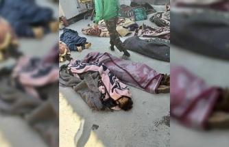 Rus savaş uçakları İdlib'de muhaliflerin kampını vurdu: 75 ölü