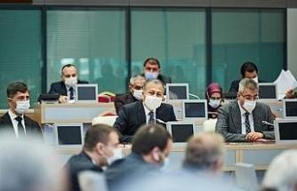 Vali Yerlikaya, 10. Filyasyon Çalışmaları Takip Kurulu toplantısına katıldı