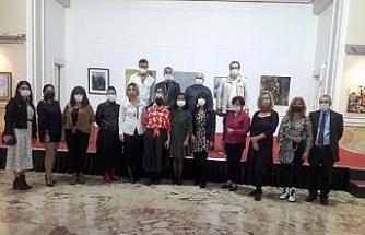 24 Kasım Öğretmenler Günü resim sergisi